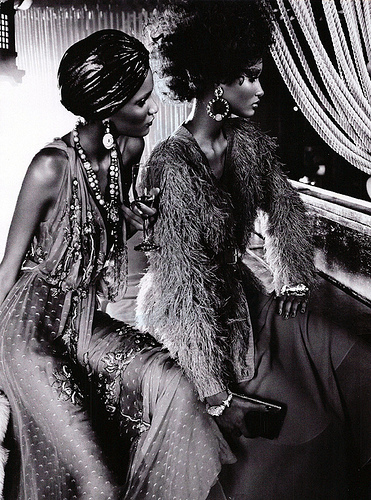 The Black Allure Vogue Italia