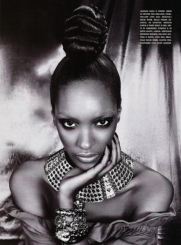 The Black Allure Vogue Italia