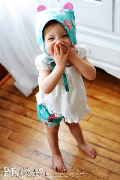 Owelette Collection Baby Bonnet