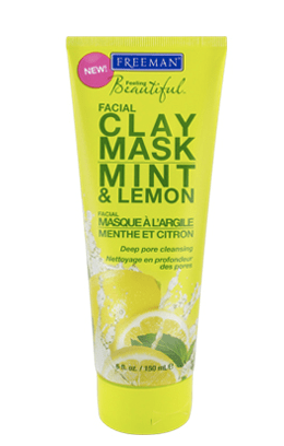 Freeman Feeling Beautiful Facial Clay Mask Mint and Lemon