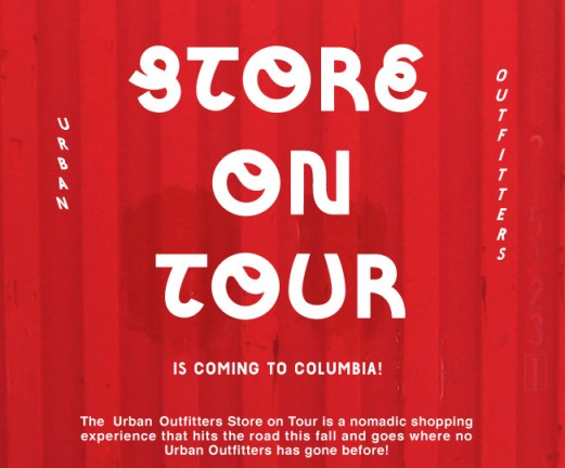 Urban Outfitters Store on Tour Columbia SC