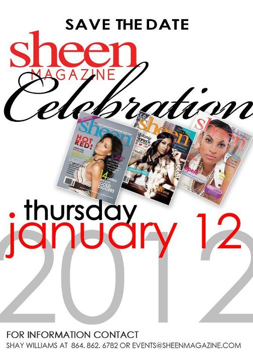 Sheen Magazine Celebration