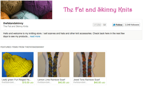 The Fat and Skinny Knits