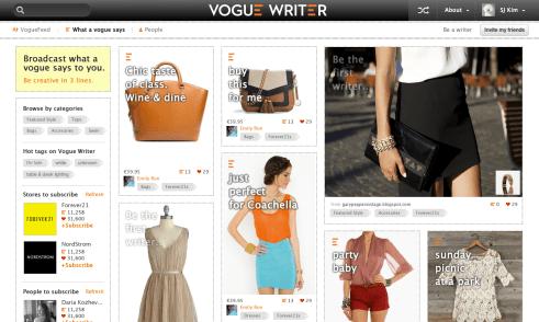 Vogue Writer