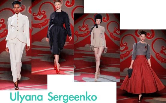Ulyana Sergeenko Couture F/W12