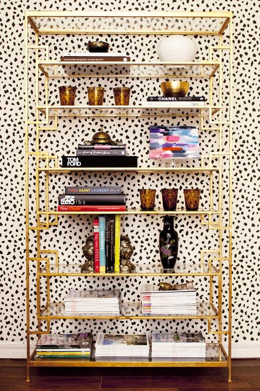 Pretty Office Bookshelf