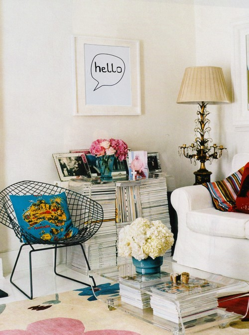 white furniture, living room