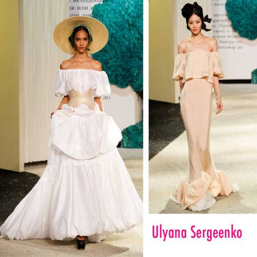 Ulyana Sergeenko Couture SS 13