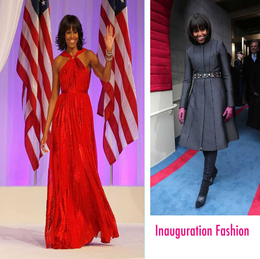 Michelle Obama Inauguration Fashion