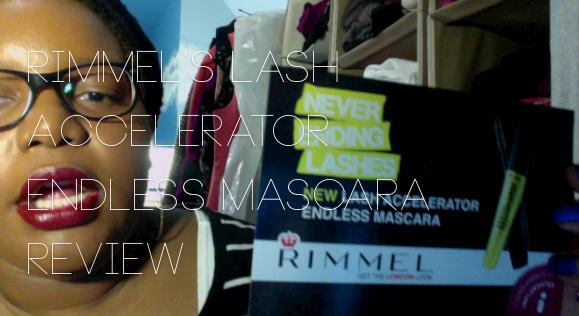 Rimmel Lash Accelerator Endless Mascara