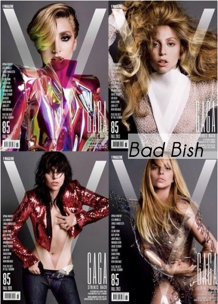 Lady Gaga V Magazine Covers