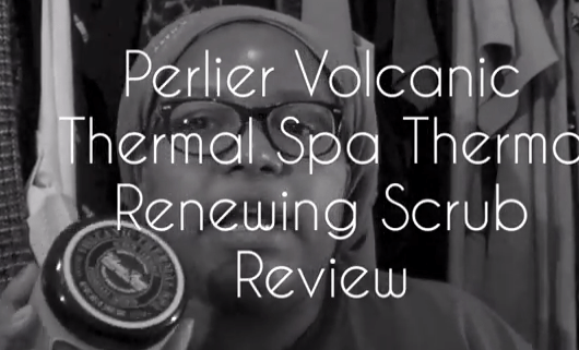 Perlier Volcanic Thermal Spa Thermo Renewing Scrub Review