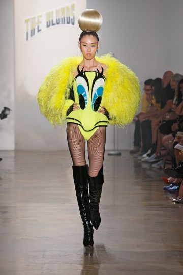 SS14 THE BLONDES RUNWAY NEW YORK 09/11/2013