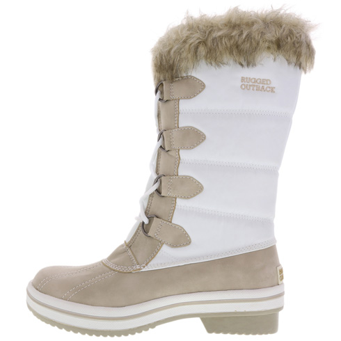 Women's Nylon Summit Faux-Fur Boot