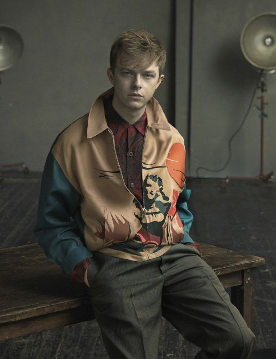 Dane DeHaaan for Prada Man
