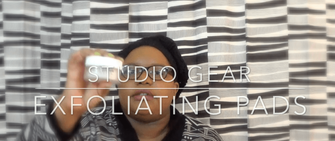 Studio Gear Total Clarification Exfoliating Pads
