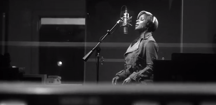 Mary J Blige with Disclosure