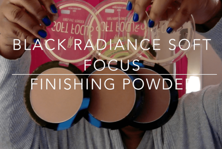 Black Radiance Soft Focus Finishing Powder