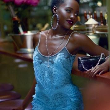 Lupita Nyong'o In Vogue Magazine October 2015