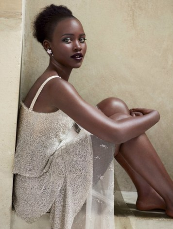 Lupita Nyong'o In Vogue Magazine October 2015