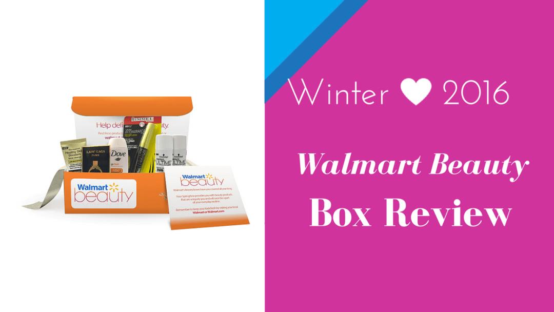 Walmart Beauty Box