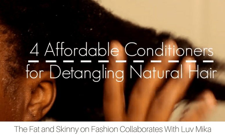 detangling natural hair