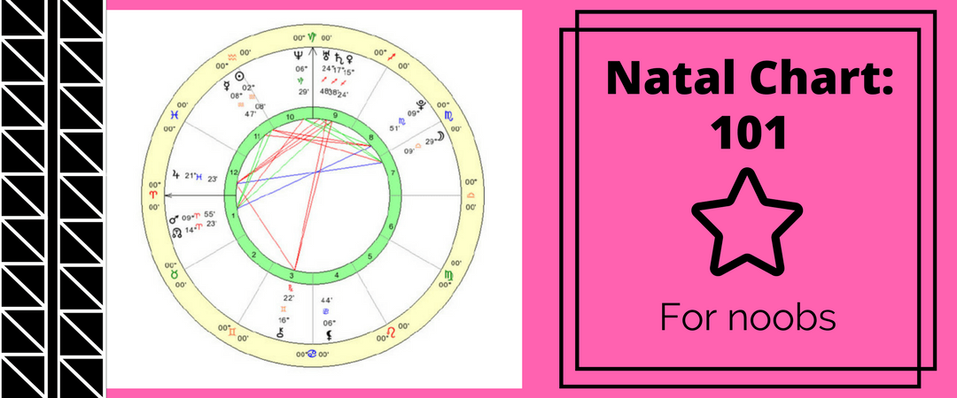 Natal Chart 101: Natal Chart Info For Noobs