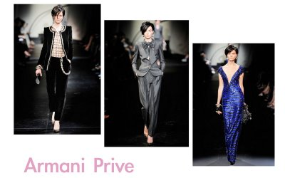 Armani Prive Fall 2009 Couture