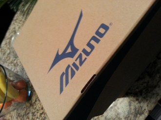 Gifts from Leevan's clothing sponsor MIZUNO
