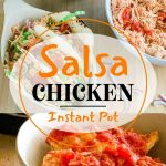 Instant Pot Chicken Salsa