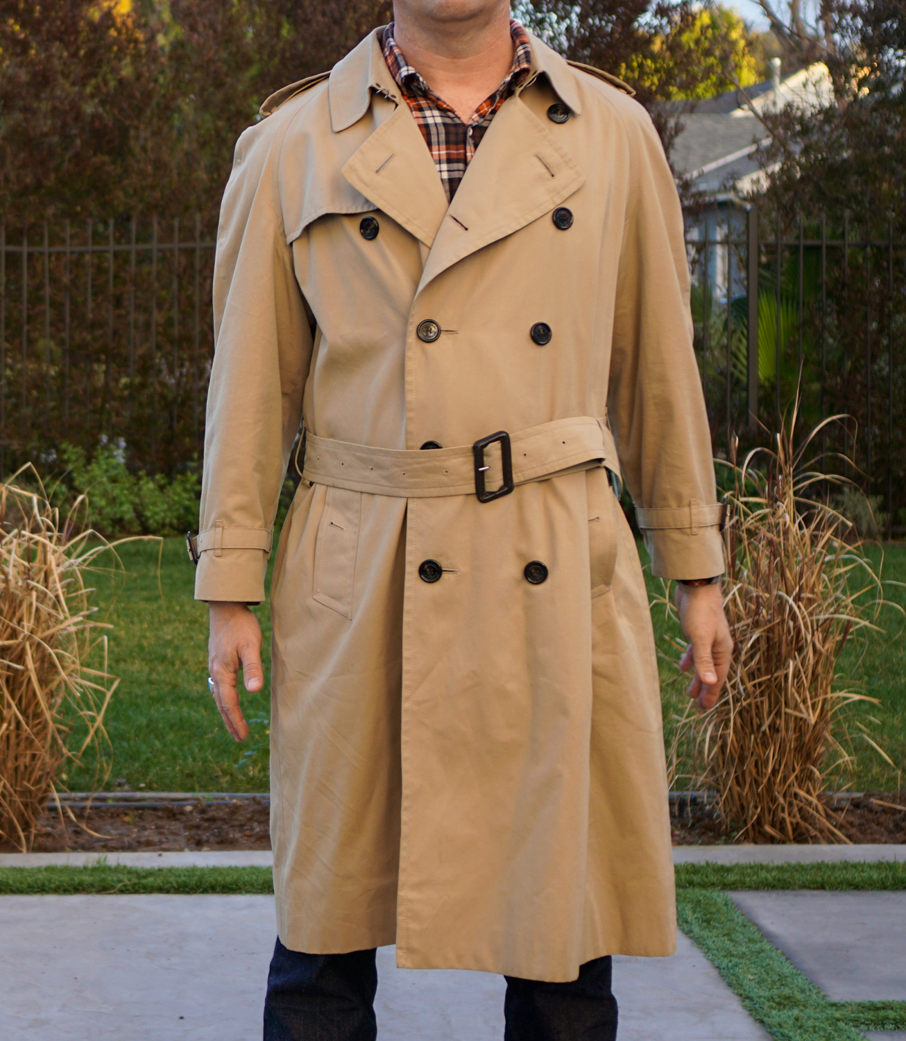 Burberry Trench Coat Long - Size UK 54 or US 44 | The Fedora Lounge
