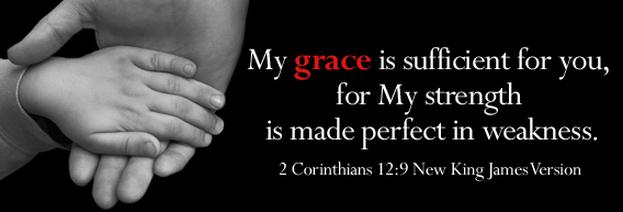 Grace Sufficient Scripture Wallpaper
