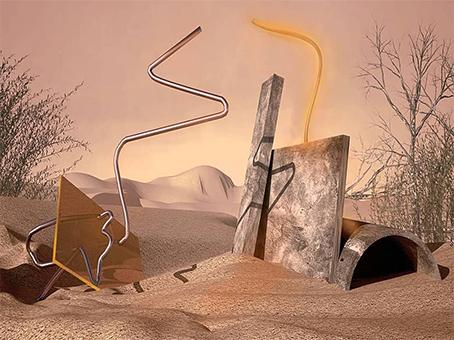Aysegul Altunok/Installazioni-spazio: un legame esperienziale