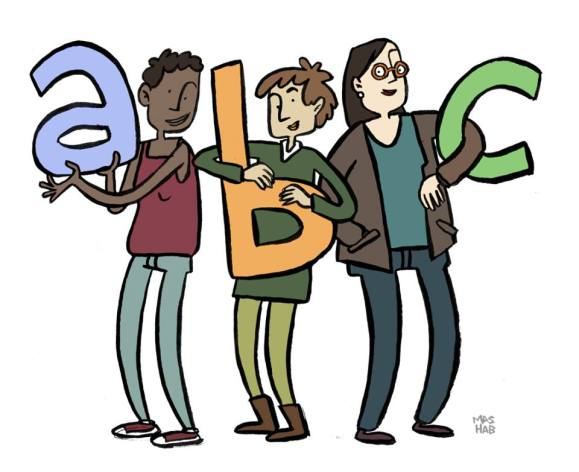 Check it out: new and improved ABC's