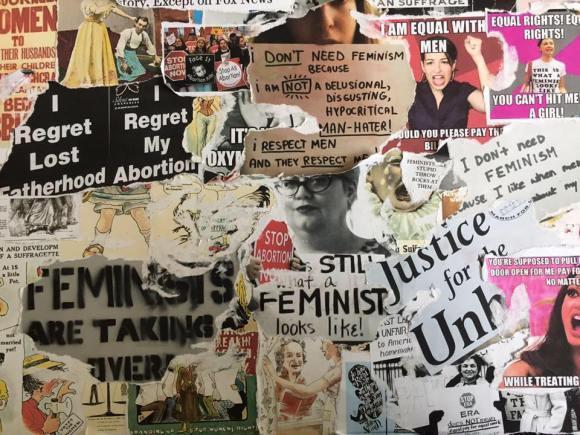 Feminist Artwork by Elisabeth Schön