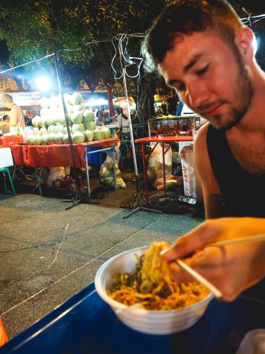 exploring Thailand night market