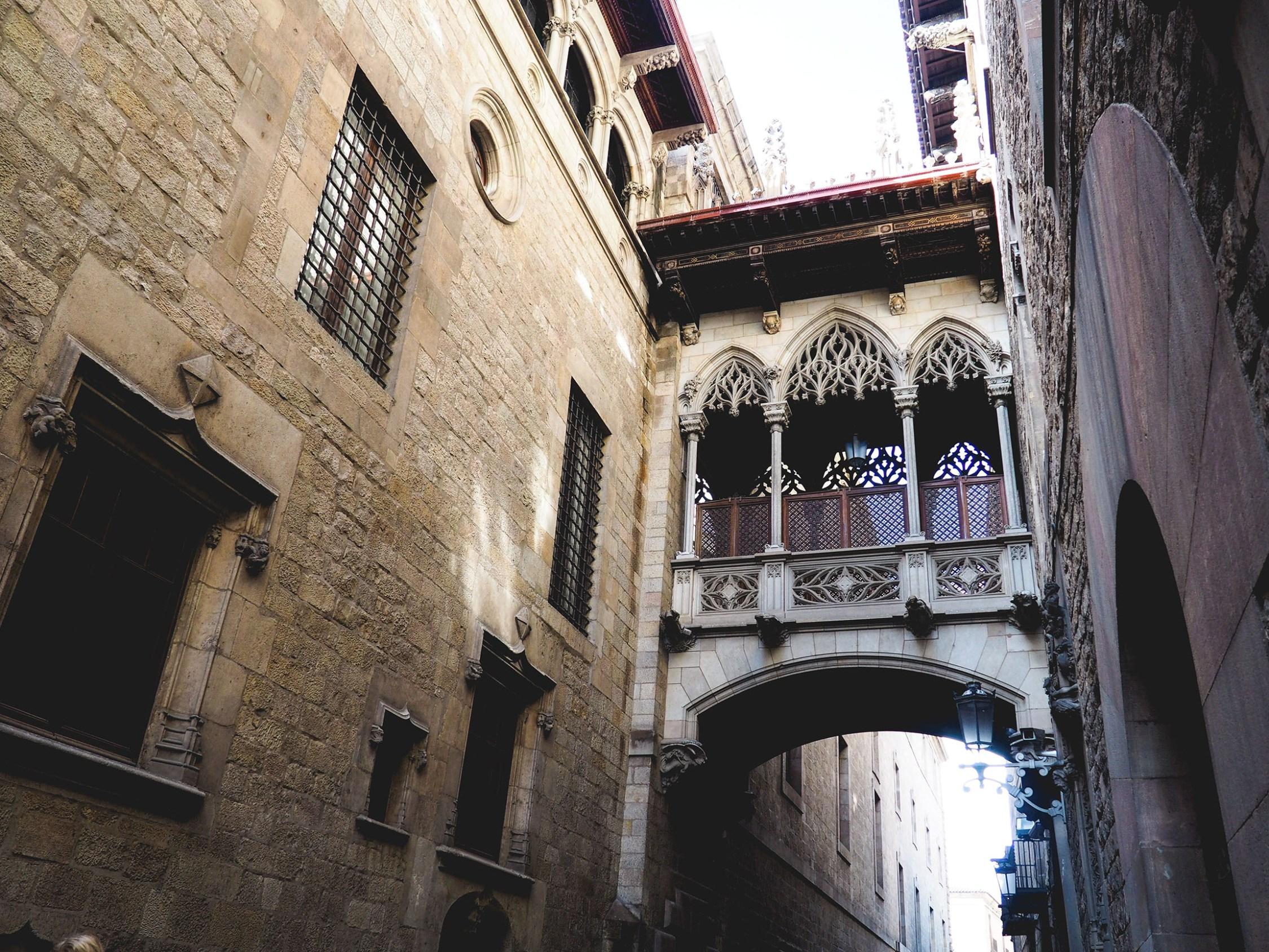 gothic quarter barcelona