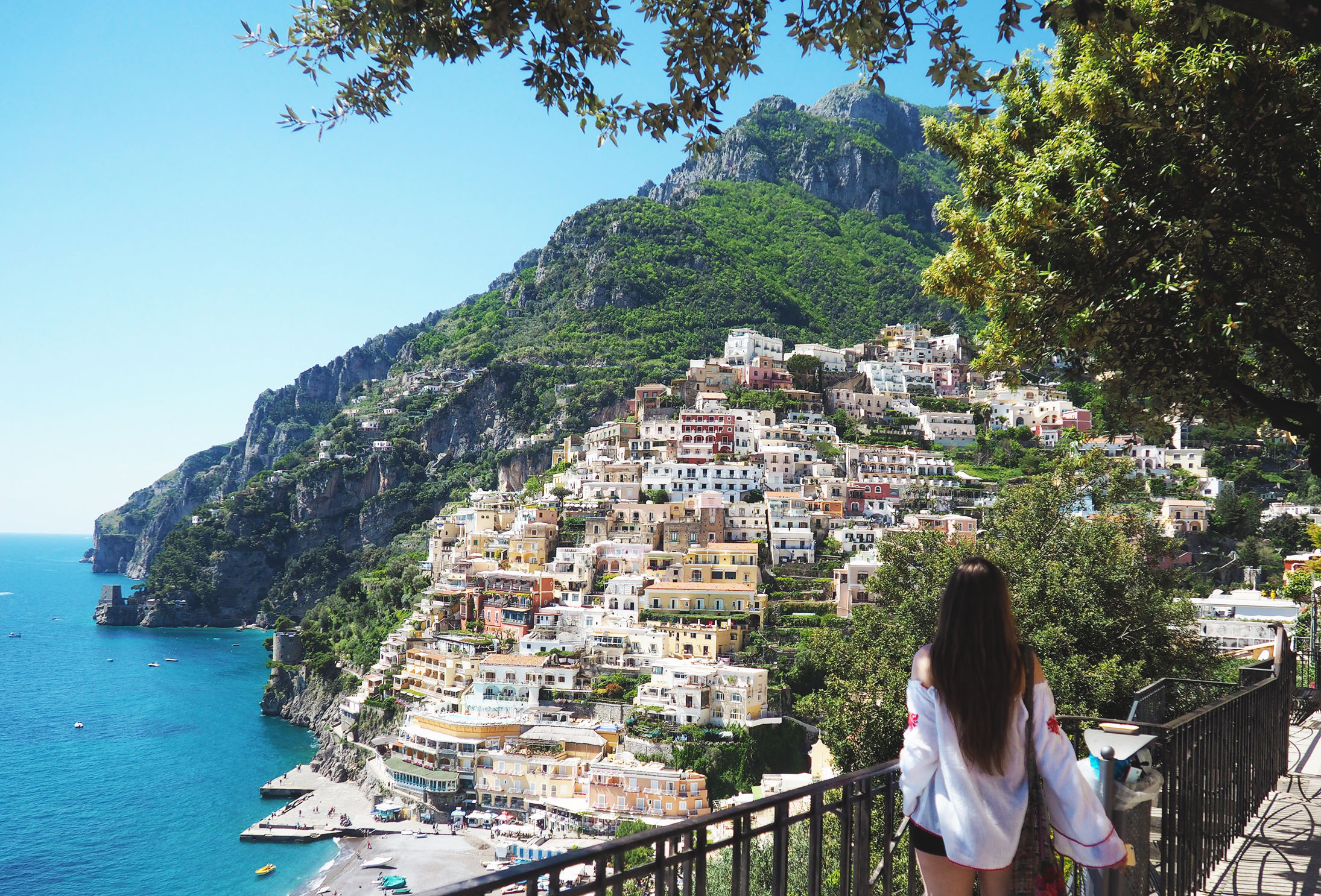 A Romantic Getaway To Positano