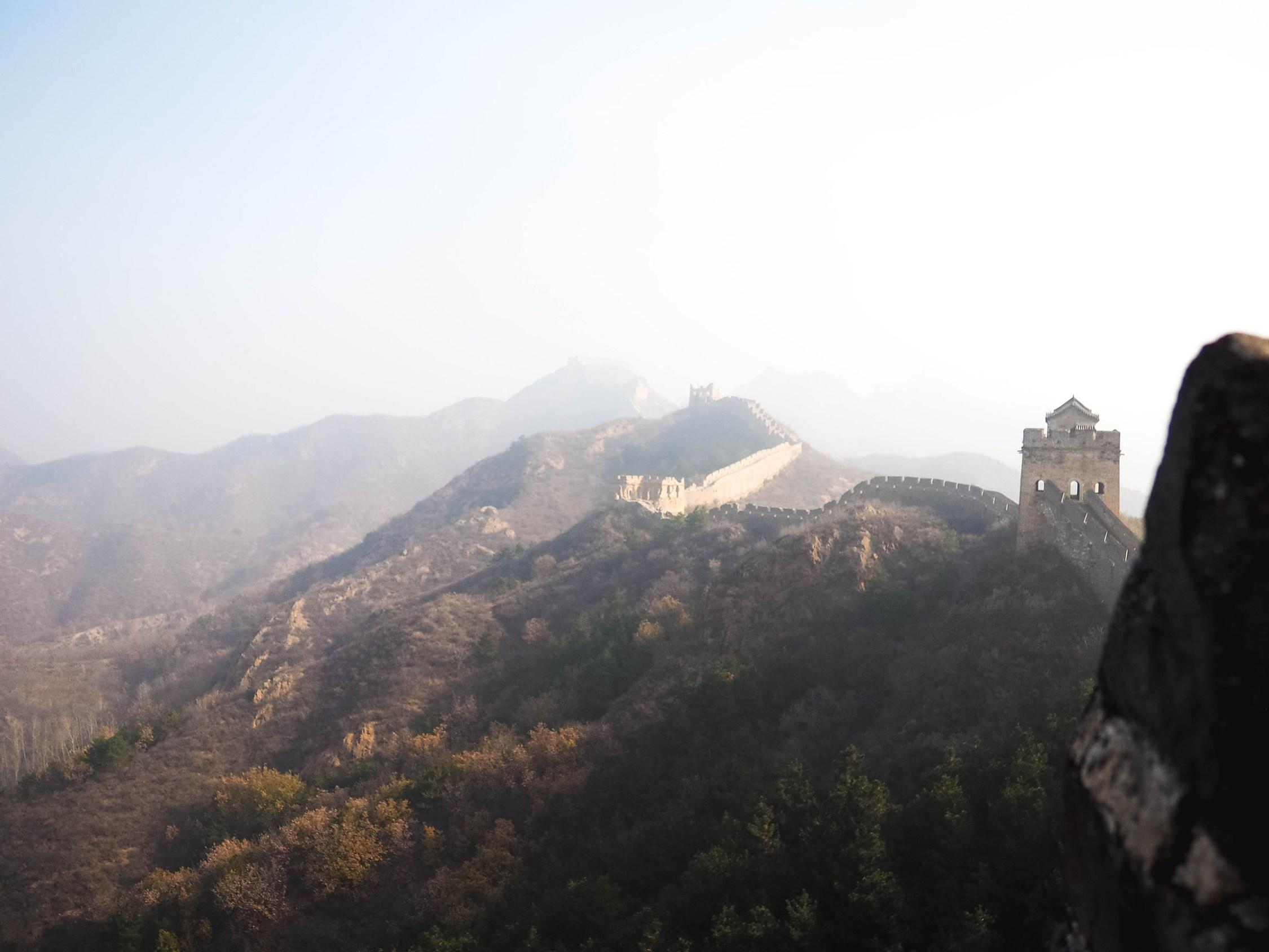 A Beautiful Great Wall Hiking Tour In Jinshaling