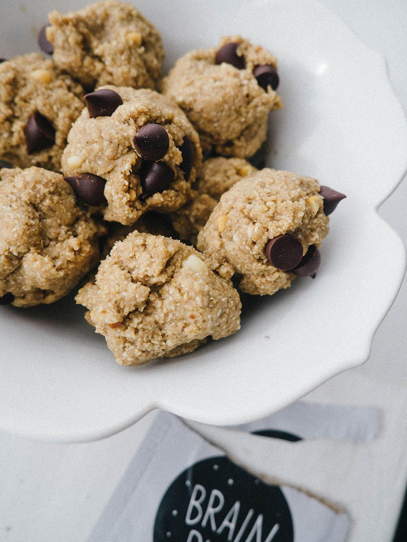 healthy cookie dough bites