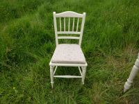 Victorian Antique Dressing Table & Chair-Painted Vintage ...