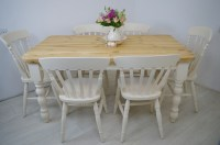 Antique Farmhouse Table And Chairs | Antique Furniture