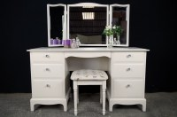 Stag 6 Drawer Dressing Table and Stool - Butterflies ...