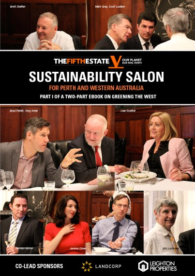 The Sustainability Salon for Perth and WA: part I of a two-part ebook on greening the west.