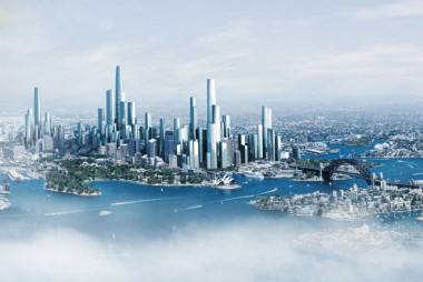 Bates Smart's vision of Sydney in 2050