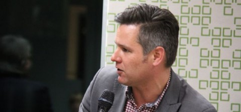Brad Pettitt, speaking at The Fifth Estate Surround Sound, for the upcoming ebook, Greening the West, Part II, out soon