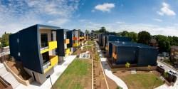 A social housing development in Lilyfield, Sydney.