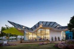 Koning Eizenberg Architecture's Pico Branch Library. Image: Eric Staudenmaier