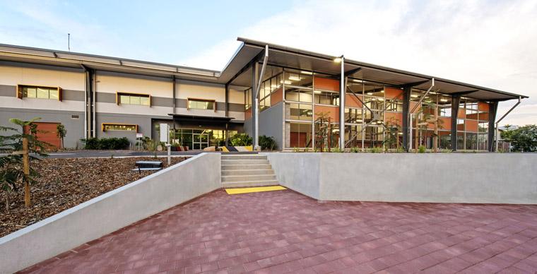 Charles Darwin University Trade Training Centre. Image: Shaana McNaught