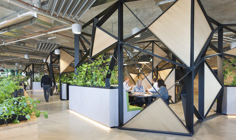 Woods Bagot's National Australia Bank at Docklands. Image: Shannon McGrath